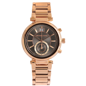Dylan Rose Gold-Tone And Silicone